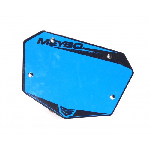 Meybo Front Numberplate V2.0 Blue