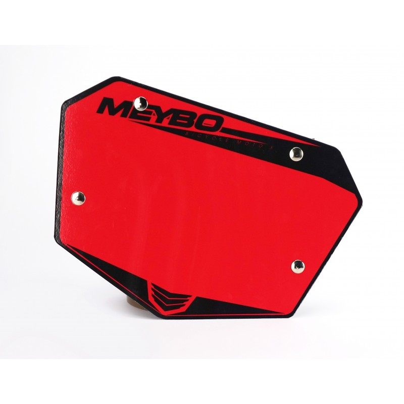 Meybo Front Numberplate V2.0 Red