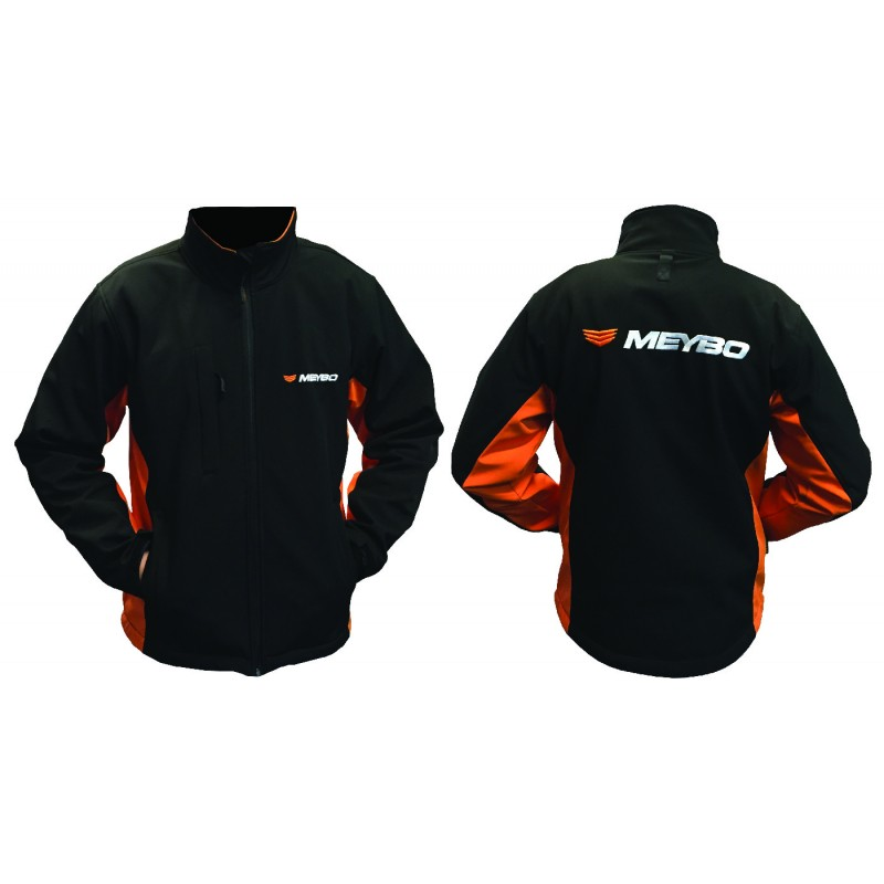 Meybo Logo Jacket Black/Orange