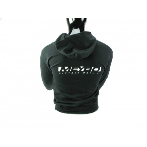 Meybo Logo Zipped Hoody V1 Black