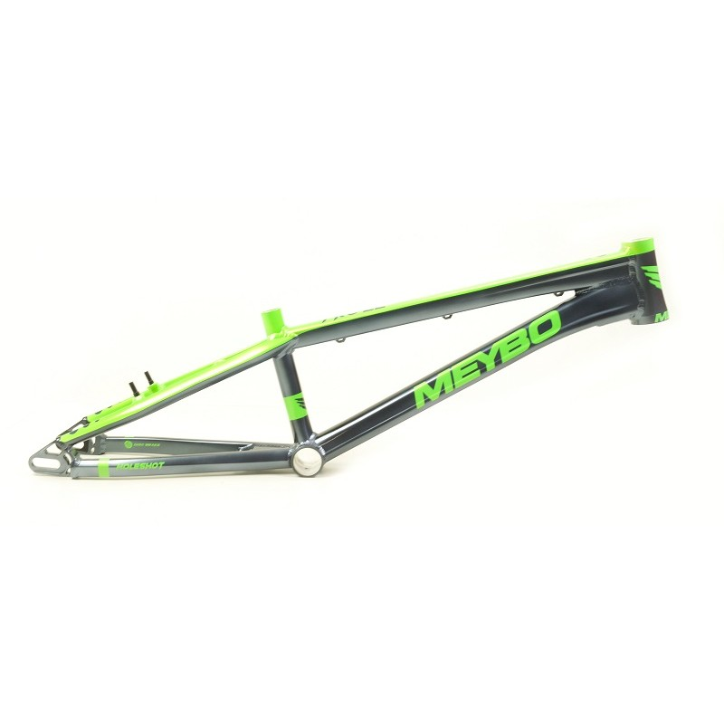 Meybo Holeshot 2020 BMX Race Frame Silver/Green