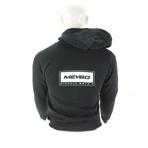 Meybo Logo Zipped Hoody V2 Black Youth