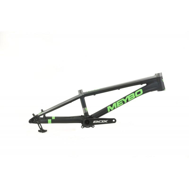 Meybo HSX BMX Race Frame Matte Black/Matte Green/Matte Grey