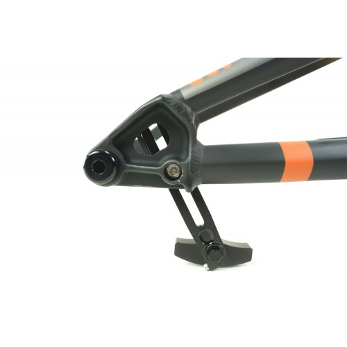Meybo HSX BMX Race Frame Matte Black/Matte Orange/Matte Grey With BOX One M35 Crankset