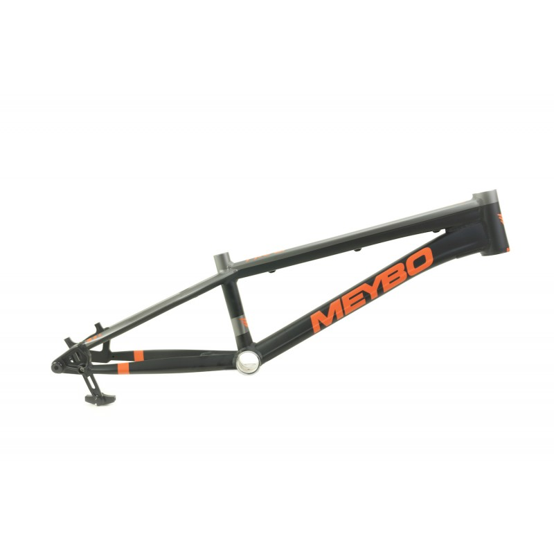 Meybo HSX BMX Race Frame Matte Black/Matte Orange/Matte Grey With BOX One M35 Crankset